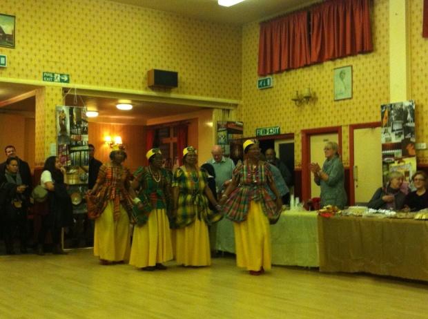 Afro caribbean dance group st josephs