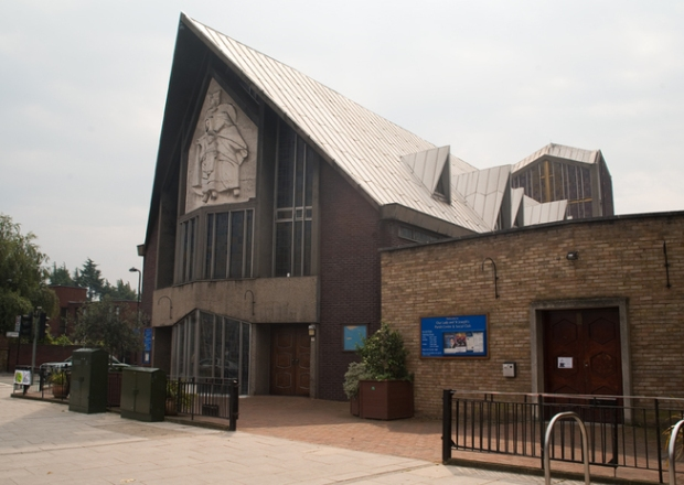 Our Lady and St. Joseph's Hanwell Photo: http://www.modernism-in-metroland.co.uk/