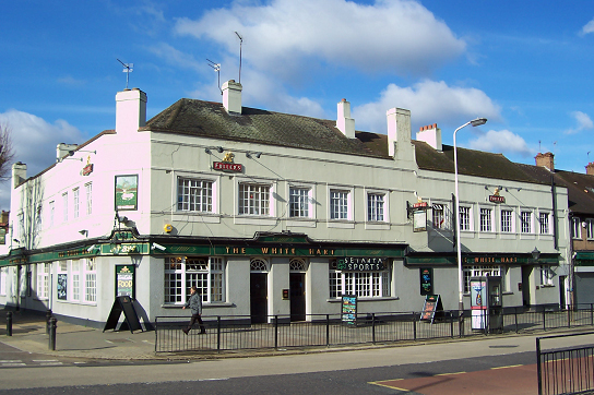 The White Hart Pub (now closed), Greenford Avenue. Source: http://chefandmanager.com
