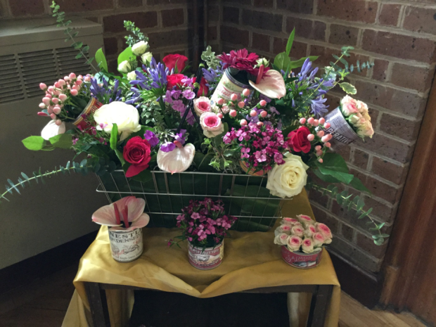 Flower Arrangement 'St Anthony' by Vanessa Canzini
