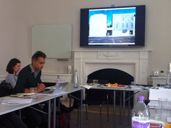Shahed Saleem delivers his paper 'We don't want a multicultural minaret, we want an Islamic minaret': tradition and symbol in the making of Muslim architecture in Britain